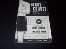 Derby County v Swansea Town, 1960/61